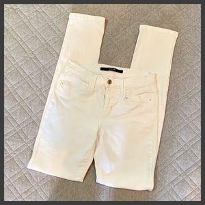 🆕🦋 Joe's Jeans White Straight Leg Mid-Rise Jeans